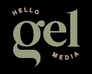 hello gel media logo